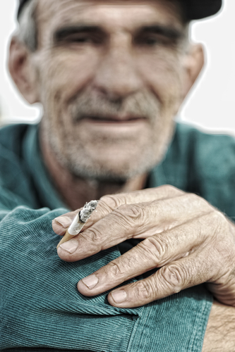 lung cancer screening for older smokers